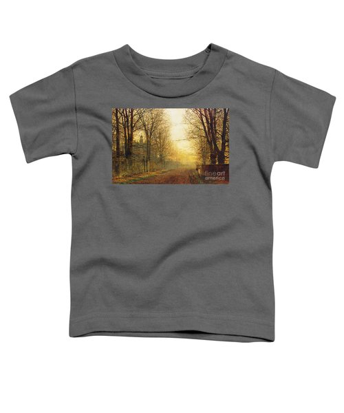 The Autumn's Golden Glory Toddler T-Shirt