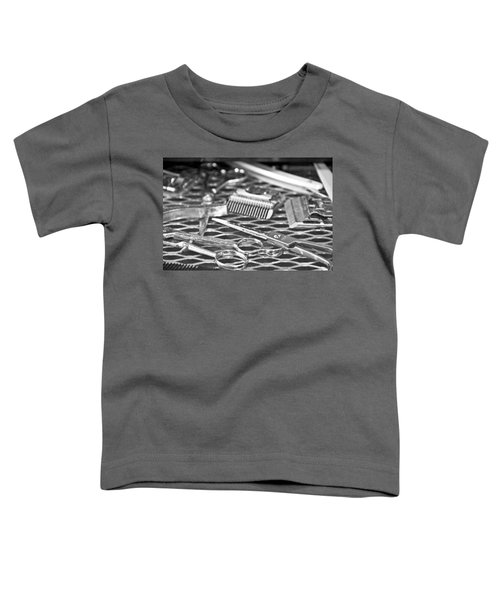 The Barber Shop 10 Bw Toddler T-Shirt