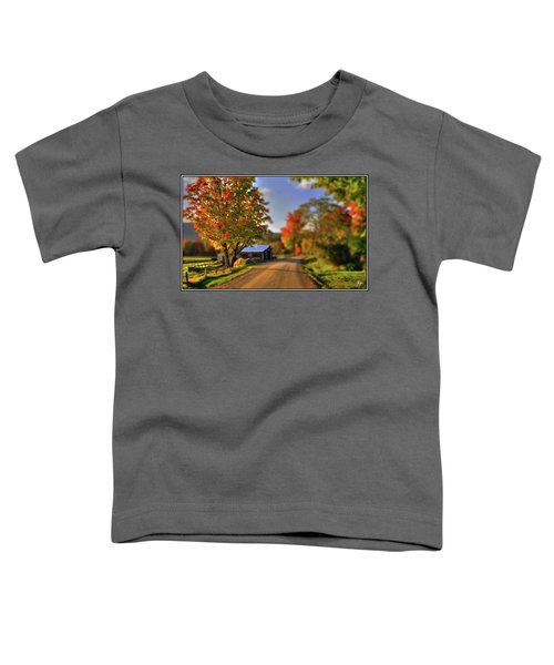 The Barn At The Bend Toddler T-Shirt