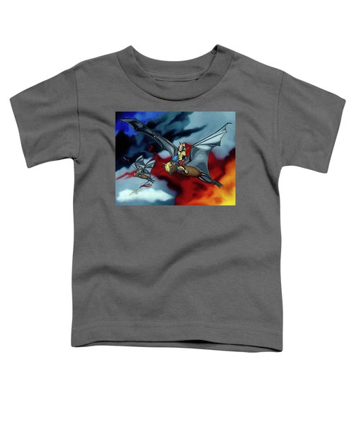 The Bat Riders Toddler T-Shirt