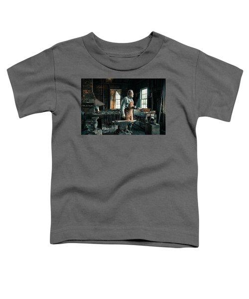 The Blacksmith - Smith Toddler T-Shirt