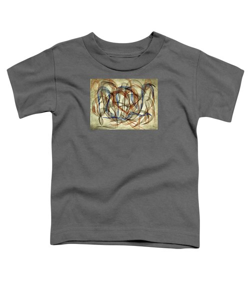 The Blues Abstract Toddler T-Shirt