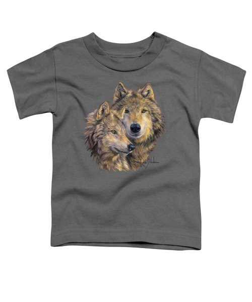 The Bond Toddler T-Shirt by Lucie Bilodeau