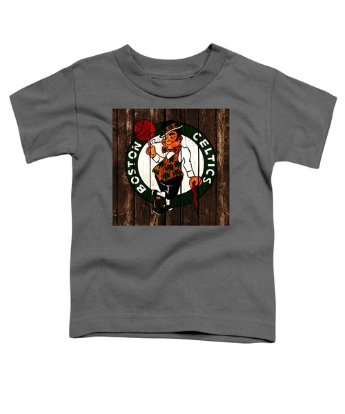 The Boston Celtics 2d Toddler T-Shirt by Brian Reaves