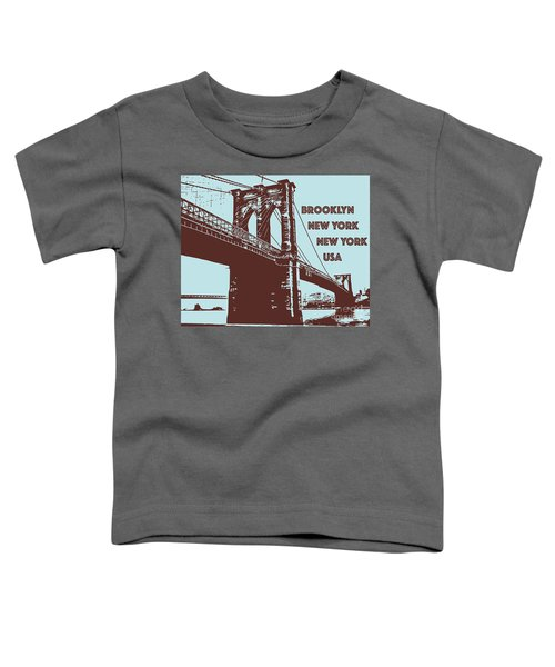 The Brooklyn Bridge, New York, Ny Toddler T-Shirt
