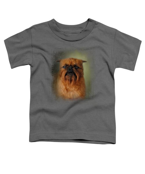 The Brussels Griffon Toddler T-Shirt by Jai Johnson