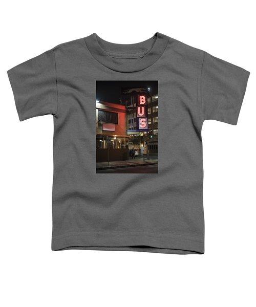 The Bus Stop Toddler T-Shirt