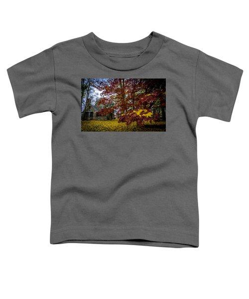 The Cabin In Autumn Toddler T-Shirt