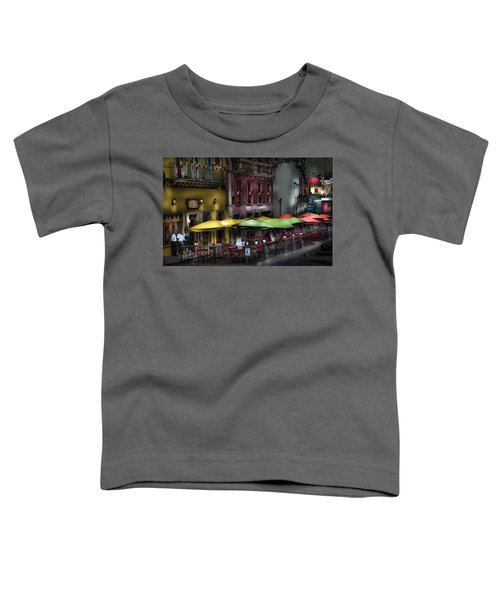 The Cafe At Night Toddler T-Shirt