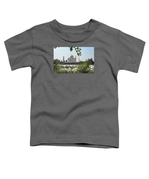 The Calm Behind The Taj Mahal Toddler T-Shirt