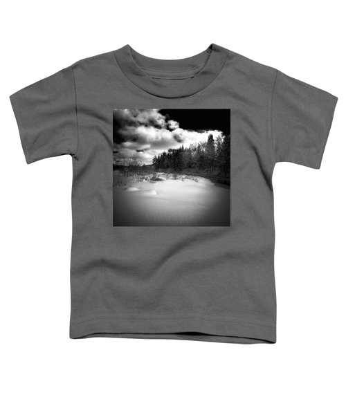 Toddler T-Shirt featuring the photograph The Calm Of Winter by David Patterson