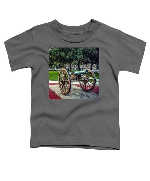 The Cannon In The Park Toddler T-Shirt