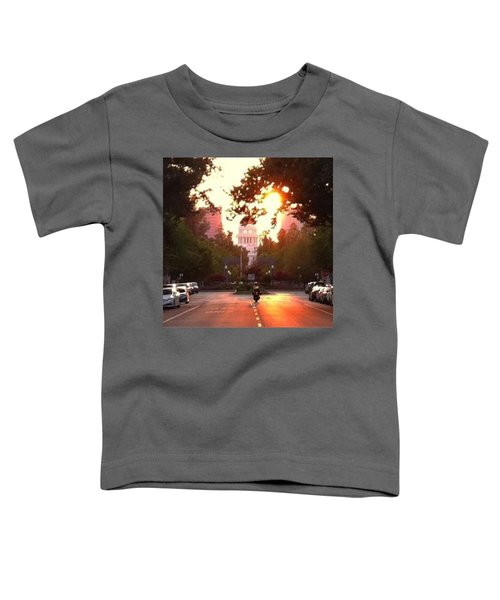 The Capitol In #sacramento #california Toddler T-Shirt