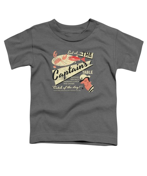 The Captain's Table Toddler T-Shirt