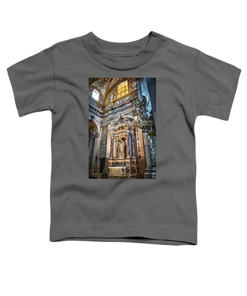 The Chapel Of Ignatius Of Loyola Toddler T-Shirt