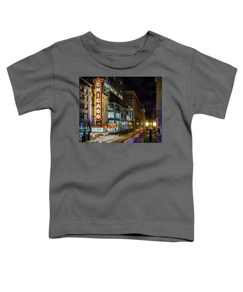 Illinois - The Chicago Theater Toddler T-Shirt