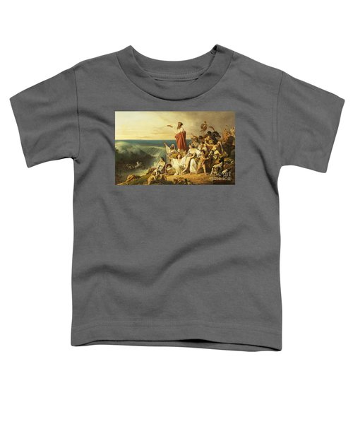 The Children Of Israel Crossing The Red Sea Toddler T-Shirt