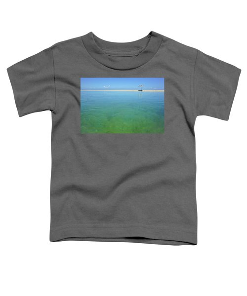 The Colours Of Paradise On A Summer Day Toddler T-Shirt