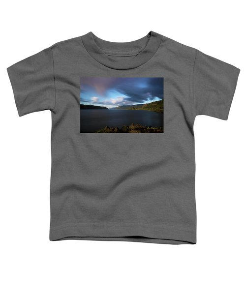 The Columbia River Gorge Signed Toddler T-Shirt