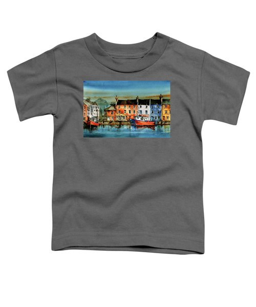 The Commercial Docks, Galway Citie Toddler T-Shirt