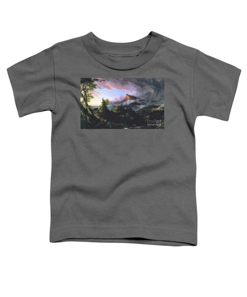 The Course Of Empire - The Savage State Toddler T-Shirt