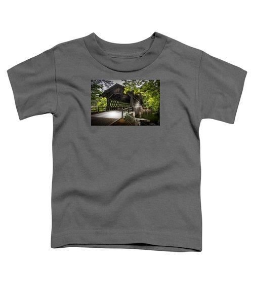 The Coverd Bridge Toddler T-Shirt
