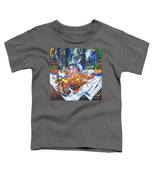The Crawfish Boil Toddler T-Shirt