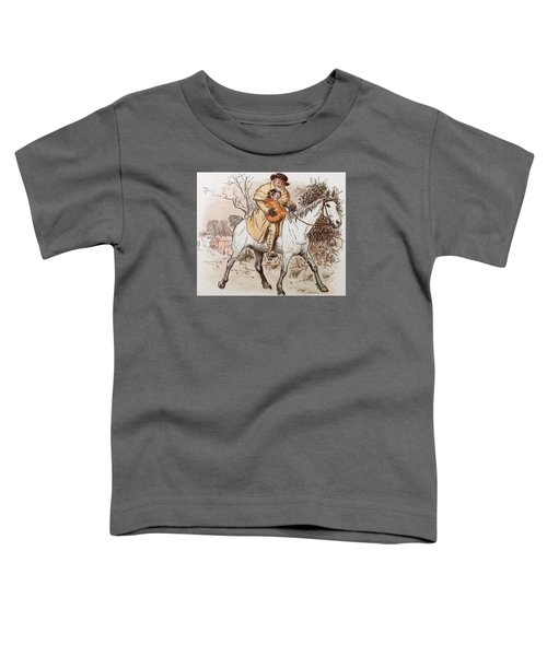The Curmudgeons Christmas  Horse Riding  Toddler T-Shirt