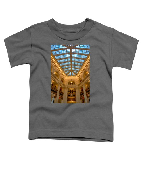 The David Whitney Building Toddler T-Shirt
