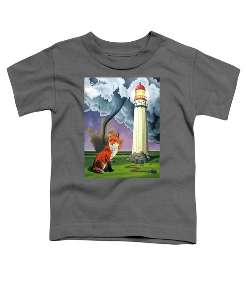 The Day The Rocks Ran Away Toddler T-Shirt