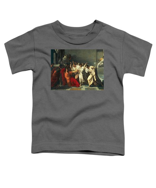 The Death Of Julius Caesar Toddler T-Shirt