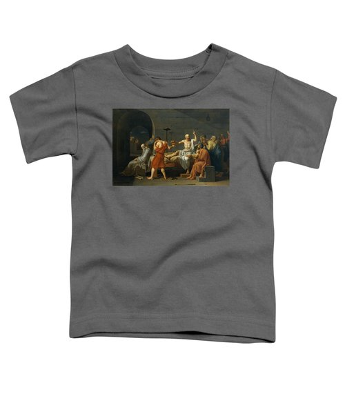The Death Of Socrates, 1787 Toddler T-Shirt