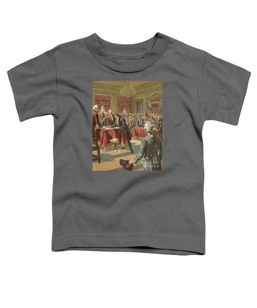 The Declaration Of Independence Toddler T-Shirt
