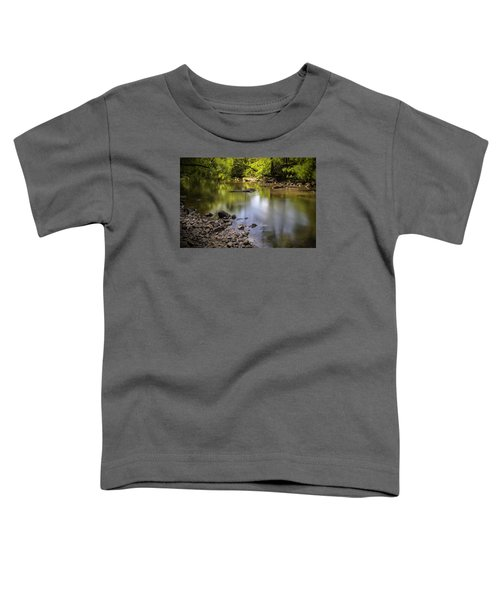 Toddler T-Shirt featuring the photograph The Devon River by Jeremy Lavender Photography