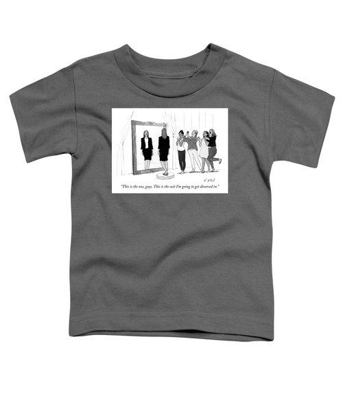 The Divorce Suit Toddler T-Shirt