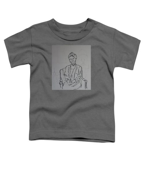 The Dowager Countess In Her Drawing Room At Dowton Abbey Toddler T-Shirt