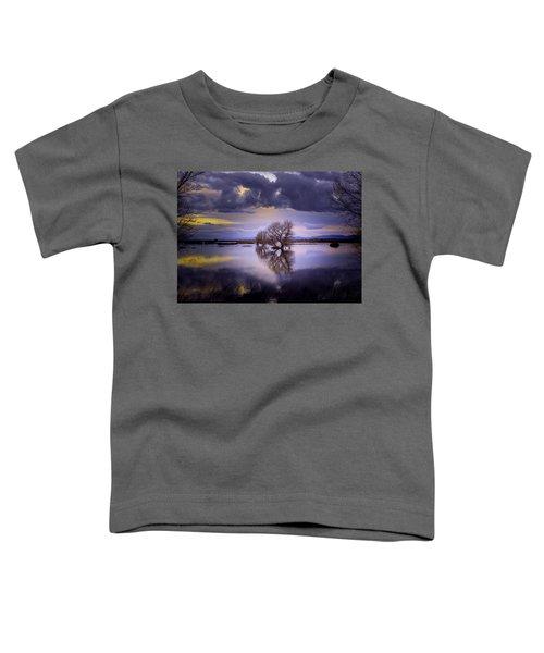 The Edge Of Sunset Toddler T-Shirt