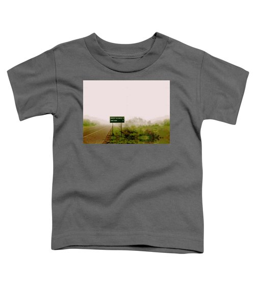 The End Of The Earth Toddler T-Shirt