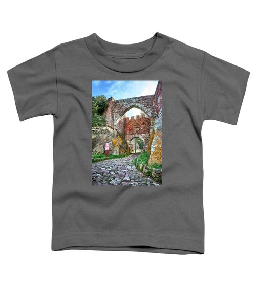 The Entrance To The Monastery Of Escornalbou Toddler T-Shirt