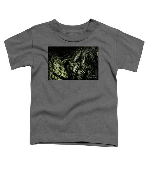 The Exotic Dark Jungle Toddler T-Shirt