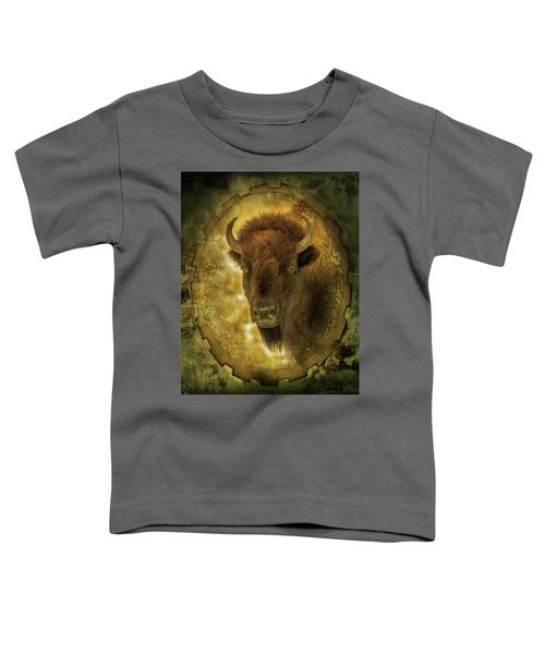 The Face Of Tatanka Toddler T-Shirt