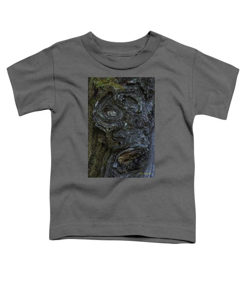 The Face Signed Toddler T-Shirt