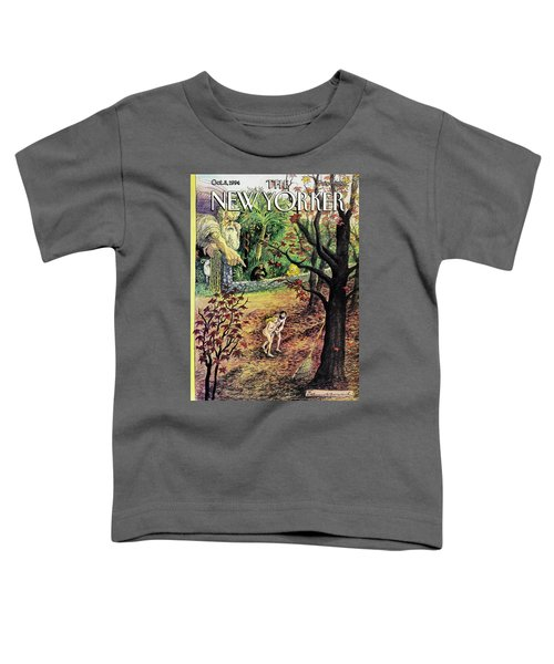 New Yorker October 3rd, 1994 Toddler T-Shirt