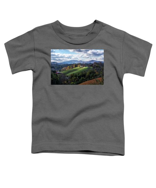 The Farm On The Hill Toddler T-Shirt