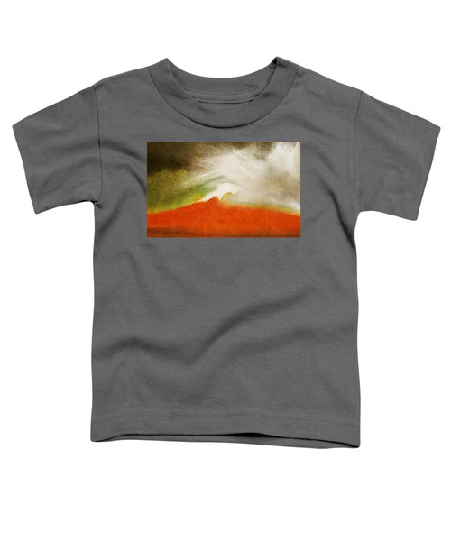 The Fire Mountain - Cotapaxi Toddler T-Shirt