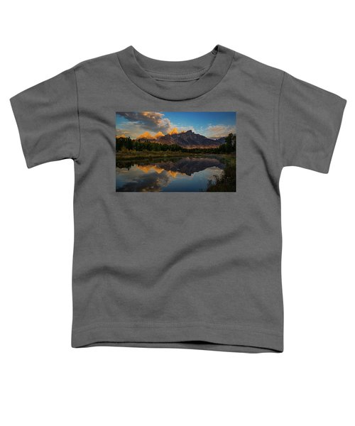 The First Light Toddler T-Shirt by Edgars Erglis