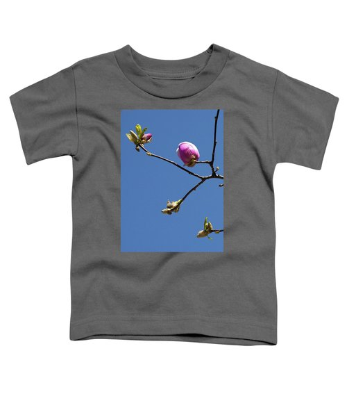 The First To Bloom Toddler T-Shirt