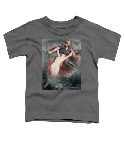 The Fisherman And The Siren Toddler T-Shirt
