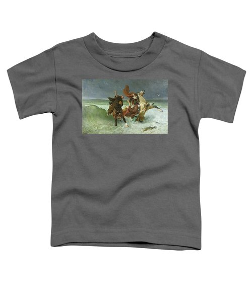 The Flight Of Gradlon Mawr Toddler T-Shirt