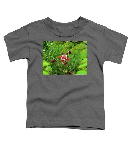 The Flowering Columbine Toddler T-Shirt